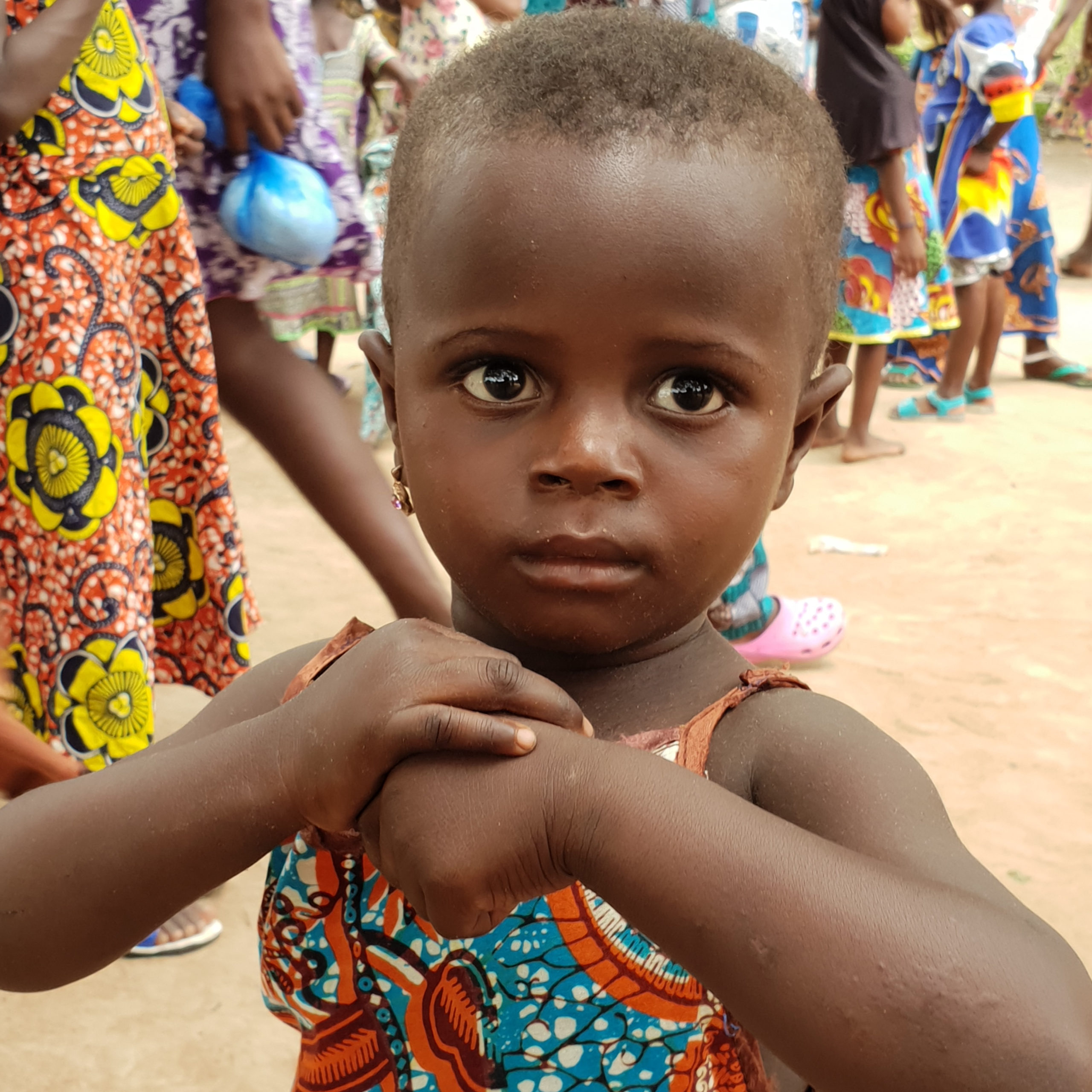 Petite fille togolaise